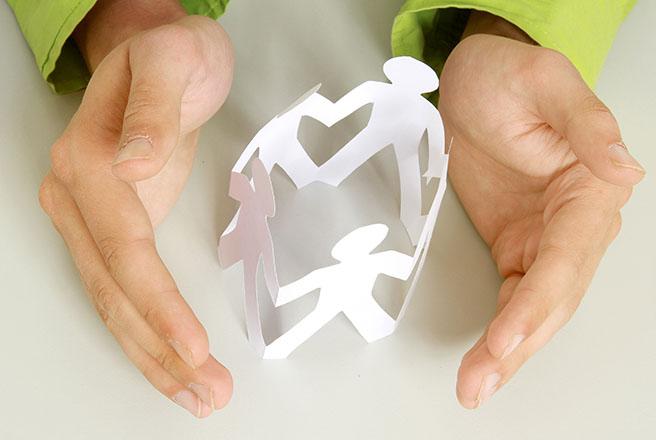 hands symbolizing care