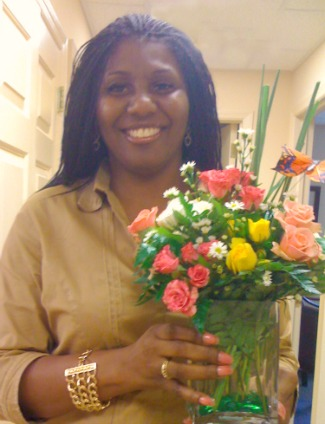 Complete Care Strategies Lady with Flowers